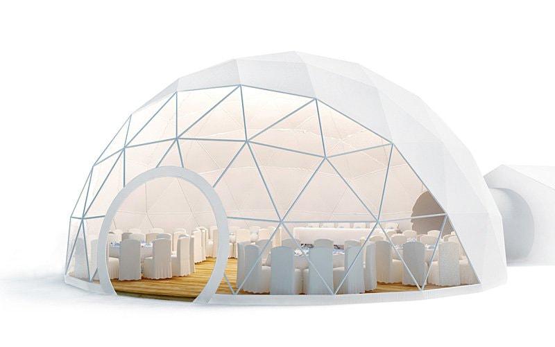 Геодезический купол фирмы ФуллерДом